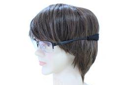 Wholesale Eyeglass Cord Lanyard - Glasses Neoprene Neck Strap Retainer Cord Chain Lanyard String For Sunglasses Eyeglasses 2 Colors Black Blue 50pcs