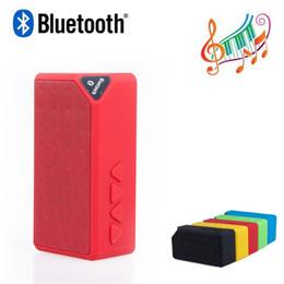 Mini Bluetooth Haut-Parleur X3 TF USB FM Radio Sans Fil Portable Musique Boîte Sonore Subwoofer Haut Parleur Avec Micro Pour Téléphone PC ? partir de fabricateur