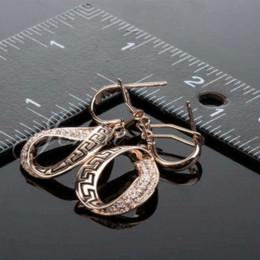 2019 18k jade earrings studs Design de moda Vogue 18k banhado a ouro brincos de jóias 2013 (PE009) brinco studs para caras brinco post desconto 18k jade earrings studs
