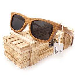 72abb76bd BOBO PÁSSARO 2017 Mais Recente Moda de Bambu De Madeira óculos de Sol de Bambu  Quadro Óculos Polarizados Lente Marca Óculos de Aceitar O Envio da gota OEM