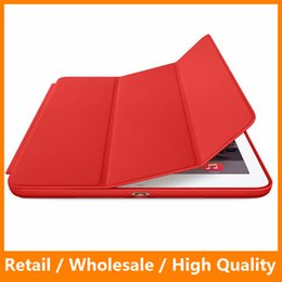 Wholesale Magnetic Flip Smart Cover - Original Style Magnetic Ultra Thin Slim Leather Case for Apple iPad Air 12 Smart Cover Flip Protector for iPad 234