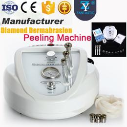 Wholesale Diamond Peel Machine Portable - Professional Microdermabrasion Diamond Dermabrasion Peeling Machine Skin Care Portable Diamond Peel Facial Beauty Instrument With CE