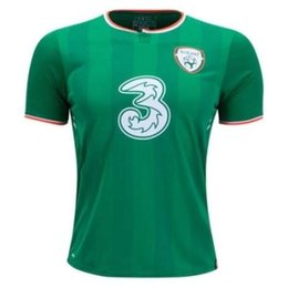 Wholesale flashing cups - 2017 2018 Ireland soccer jerseys Republic of Ireland national team jerseys 2018 World Cup Ireland KEANE Daryl home away football shirts