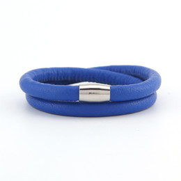 Wholesale Best Pc Design - Newest Design 6 Styles Endless PU Leather Wrap Bracelet Best Gift for Women 5 pcs lot