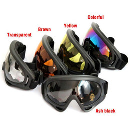 Wholesale Brown Wholesale Skates - Bicycle Cycling Goggle Glasses Eyewear Lens Ski Snowboard Skate Goggles Anti Wind Dust Cpw sunglasses