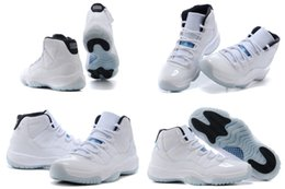 Wholesale Model Sports Shoes - Free Shipping (With Box) New Model High Quality Retro 11 XI Space Jams Legend Blue Men's Basketball Sport Footwear Sneakers Trainers Shoes