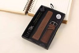 Wholesale Leather Watch Bands Chicago - Apple Watch Chicago Leather Strap Watchband Replacement iwatch 38mm 42mm Men and Women Wristwatch Band Strap with Retail Package 2015 DHL