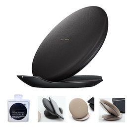 Wholesale Fast Convertibles - For Samsung S8 Fast Charge QI Wireless Charging Pad Convertible Stand For iPhone X 8 Samsung Galaxy Note 8 S8 Plus S7 S6