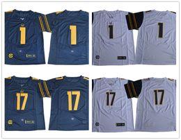 Wholesale Football Bearing - California Golden Bears College Football 1 Melquise Stovall Devante Downs 17 Vic Wharton III Luke Rubenzer 2017 Cal navy blue white jerseys