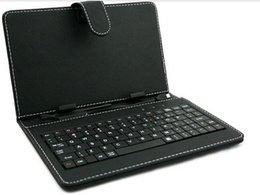 "Wholesale Ipad Usb Case - Hot Sale 7"" "" 8' 9.7"" 10"" Leather case keyboard with Russian,Portuguese,Arabic ,Italian ,German, English ect,USB HOST,,USB Micro"