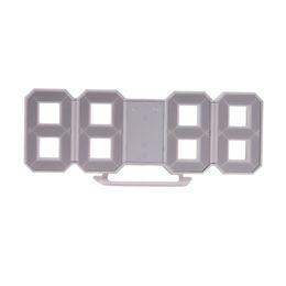 Wholesale Led Digital Wall Clocks - Modern Wall Clock Digital LED Table Clock Watches 24 or 12-Hour Desk Alarm
