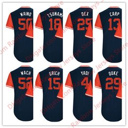 Wholesale Molina Baseball - Custom Nickname Jerseys Carlos Martinez #18 Tsunami Yadier Molina #4 Yadi Matt Carpenter #13 Carp Dexter Fowler #25 Dex Zach Duke #29 Duke