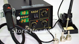Wholesale Kada Soldering Station - Free sipping 220V KADA 852D+ Hot Air Repairing & Rework Station Soldering Irons & Stations welding iron