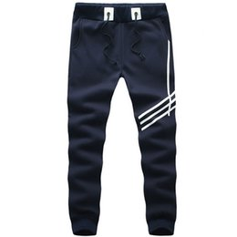 Wholesale Leisure Baggy Trousers - Wholesale-Hot 2015 Leisure Gym Pants Hip Hop Sweat Pants Harem Dance Joggers Baggy Trousers Slacks Men Sport Pants Man Trousers