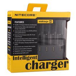Wholesale nitecore aa - Nitecore I4 Charger Universal Charger for 18650 16340 26650 10440 AA AAA 14500 Batteries Nitecore Battery Charger Li-on Battery 0205007