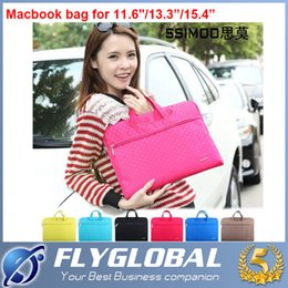"Wholesale Accessories For Macbook Air 11 - 2016 Laptop Bag For Macbook Pro Air 11"" 13"" 14"" 15"" Women Laptop Notebook Computer Sleeve Bag Case Accessories AAAA quality"