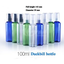 Wholesale Personal Press - Free Shipping Capacity 100ml 200pcs lot Round shoulder beak-bottle (powder ), high-grade latex bottles,pressed bottles