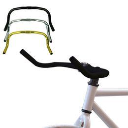 Wholesale Bike Fixie - Wholesale-A Stylish Alloy Bullhorn HandleBars For Fixie Fixed Gear Single Speed Road Bike Cycling accessory