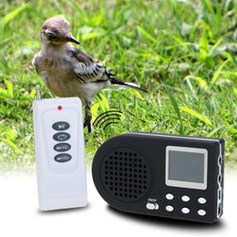 Wholesale Bird Sounds Mp3 - Electronics Hunting Mp3 Bird Caller Sound Player With Remote Control Hunting Decoy Speaker Remote with control Y1332