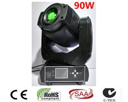 Wholesale Auto Moving - Wholesale- Trasporto Libero New Hot-vendita 90 W LED Spot Moving Head Light USA Luminums 90 W LED DJ Luce del punto
