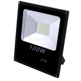 Wholesale Led Wall Lights Cheap - Cheap new price Waterproof White IP65 100W Outdoor Led Floodlights Warm Cool Led Flood Lights AC 85-265V downlight lights