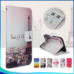 Wholesale leather case for zte - Painted Pattern Wallet case For LG Aristo 2 MetroPCS For ZTE Avid 4 MetroPCS Tempo X N9137 Case Flip pu eather phone Cover