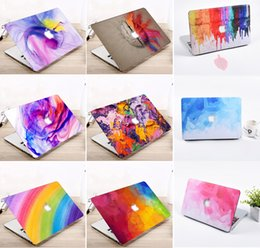 """Wholesale Laptop Hard Shell Covers - Laptop Notebook Hard Shell Case Keyboard Cover Fit Apple Macbook Pro   Air   Retina 12 13 15"""" Air 11 13""""inch Touch Bar 2017"""