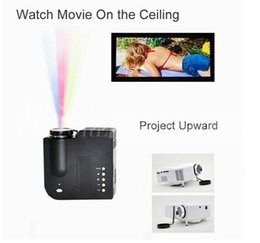 "Wholesale Mini Projectors Wholesale - Free DHL New UC28 UC28+ Portable Pico LED Mini HDMI Video Game Projector Digital Pocket Home Cinema Projetor Projector for 80"" Cinema"