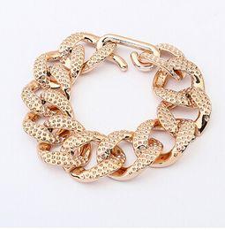 Wholesale Wholesale Designer Style Bracelet - 10 Styles bracelet brand designer pulseiras femininas alloy jewelry bracelets for women gold clink chain bracelet