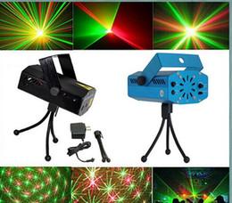 Projecteur multicolore en Ligne-Multicolor Mini Led Stage Lights Laser Show Projecteur Disco DJ Equipement lumière de noël Partie mariage éclairage AC110-240V
