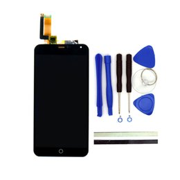 Wholesale Touch Screen Cell Phone Parts - Wholesale- 100% New For Meizu M1 Note LCD Display + Digitizer Touch Screen Replacement 5.5Inch M1 Note Cell Phone Parts With Free Tools