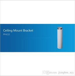 Wholesale Ceiling Mount Bracket Camera - DAHUA tech DH-PFA11X lifting connecting rods Series-Ceiling Mount Bracket PFA112 for PTZ Camera Installation 53mm x 220mm