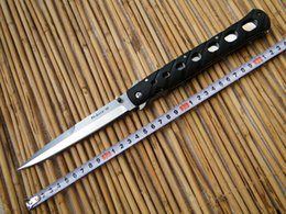 "Wholesale Zytel Knife - Cold Steel 6"" Ti-Lite 26 SXP Tactical Knife Folding knife, AUS-8 blade,Zytel black handle,EDC Pocket knife"