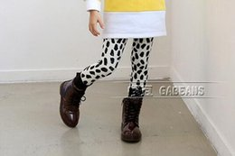 Wholesale Leopard Print Leggings For Kids - Cute Girls Printing Leggings For 2015 Winter New Arrival Leopard Kids Cotton Thicked Tights Children Velvet Clothing Fit 3-9 Age