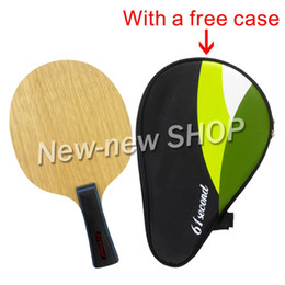 Wholesale Super 55 - Wholesale- 61second 3003 Super Light Table Tennis PingPong Blade FL 55-65g CS 63-74g with a free full case