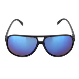 Wholesale Huge Pc - Retro Fashion Huge Blue Lenses Sunglasses Polarized Glasses for Men Women Fashion and High Quality Decoration Tool for Traveling