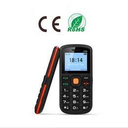 Wholesale Mobile Phones For Seniors - DHL Shipping Unlocked Mobile Phone Simple Big Button Dual Sim Card Slot 2G Light Cellphone Big Battery For Seniors Elderly