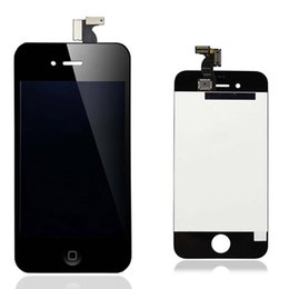 Wholesale Original Iphone 4s Assembly - Best Quality A+++ Full Original LCD Display & Original Touch Screen Digitizer Flex Complete Assembly For iPhone 4 4G 4S No Any Defect!