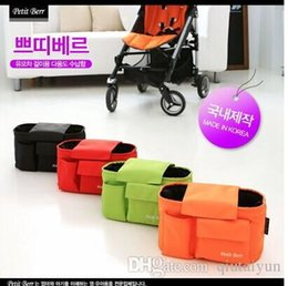 Wholesale Doomagic Clothing - Doomagic Stroller Accessories Waterproof Baby out dirty clothes Cartoon storage bag stroller organizer bags Hung Bag Car Container Bags 529