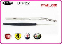 Wholesale locked door openers - LISHI SIP22 fiat, car door opener for fiat,Fiat inside milling,SIP22 lock pick tool free shipping