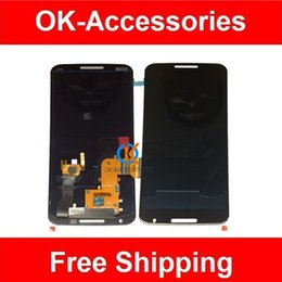 Wholesale Nexus Touch Panel Replacement - 1PC Lot Original New Display Black Color For XT1103 Nexus 6 LCD With Touch Replacement Free Shipping