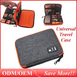 caixas de armazenamento de telefone celular Desconto Universal Caso de Viagem Pequenos Acessórios de Eletrônica Coisas Saco de Mão De Armazenamento Ao Ar Livre Sacos para Banco de Potência Celular-Bag012