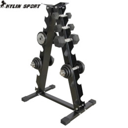 Wholesale Quality Fitness Equipment - Wholesale- Steel quality dumbbell rack home fitness equipment do bot include dumbbell