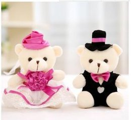 Wholesale Little Love Dolls - New girl and boy love Plush toys wholesale grab machine doll wedding away game gift weddings activities little doll