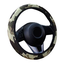 volantes vw passat Rebajas Estilo militar Cubierta del volante del automóvil / Trenza universal en el volante del automóvil Four Seasons General O SHI CAR