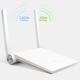 Wholesale Vpn Wireless - 2016 brand mi Xiaomi router White wifi router 802.11ac wireless MT7620A 128MB 2.4G 5G dual band ac antenna smart mini router