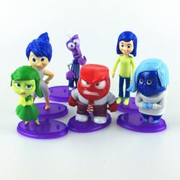 Wholesale Figured Out - 8-10cm New Arrival 6pcs set Cartoon Movie Inside Out PVC Figure Toys Collection PVC Dolls
