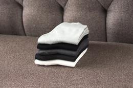 Wholesale Sweat Socks Men - The new autumn in the tube socks male solid color cotton classic men socks in the tube deodorant sweat sweat men socks wholesale