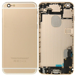 Wholesale Full House Complete - Complete Full Housing with Side Buttons Cables Small Parts Assembly For iPhone 6 6 Plus 6s 6s Plus Back Battery Door Cover Housing