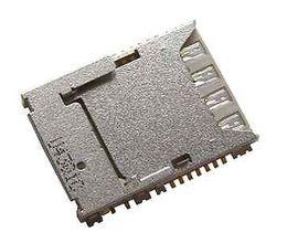 Wholesale S3 Sim Slot - Free shipping Original Sim Memory Card Reader SIM Card Socket Memory Card Slot for SM-G900F Galaxy S5 , GT-I9301 Galaxy S3 Neo